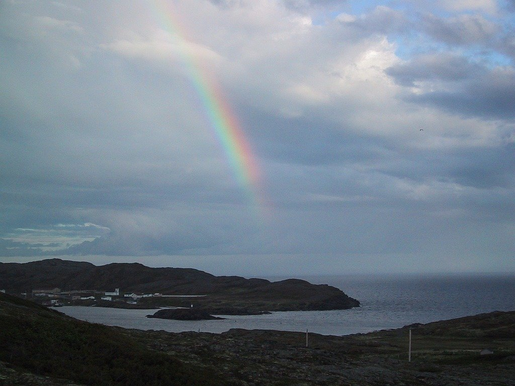 Goose Cove, NL - mountain cliff trails and spectacular ocean vistas.